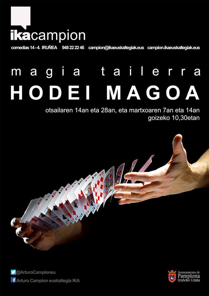 Magia Tailerra. HODEI MAGOA @ Arturo Campion Euskaltegia IKA