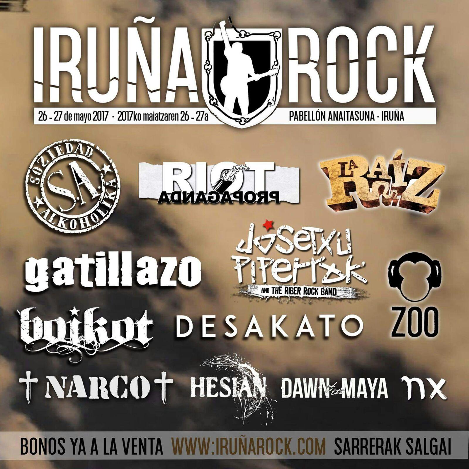 IRUÑA ROCK JAIALDIA @ Anaitasuna-Iruñea