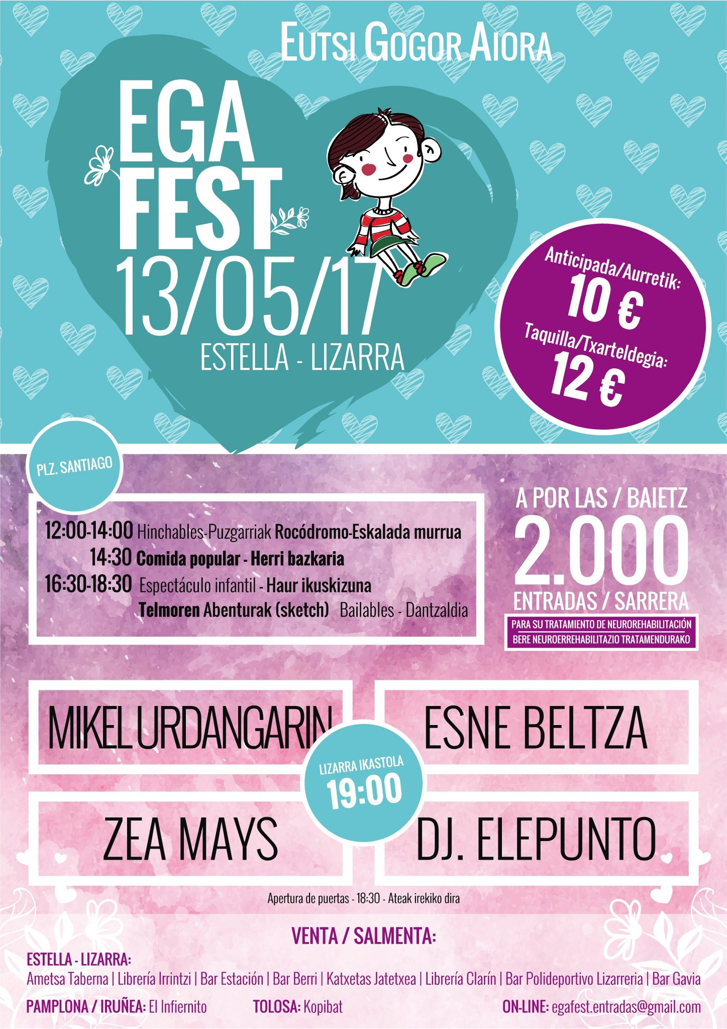 """EGAfest """"Eutsi Gogor Aiora"""" @ Lizarra Ikastola"""