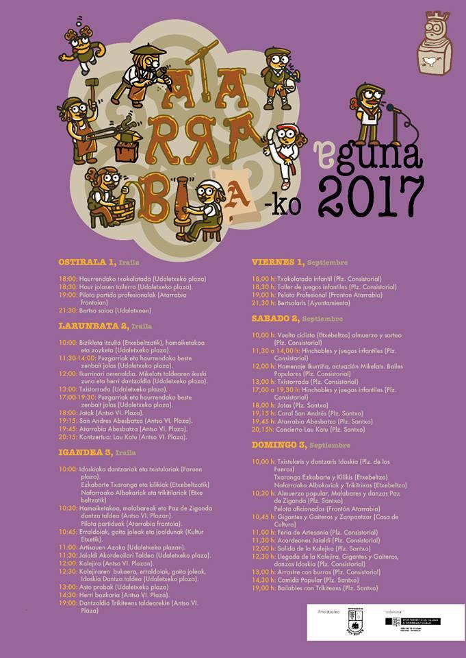 Atarrabiako Eguna 2017 @ Atarrabia