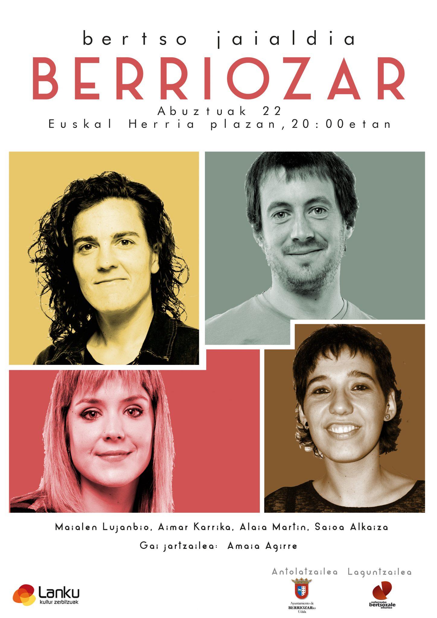 Bertso Jaialdia Berriozarren @ Euskal Herria plazan