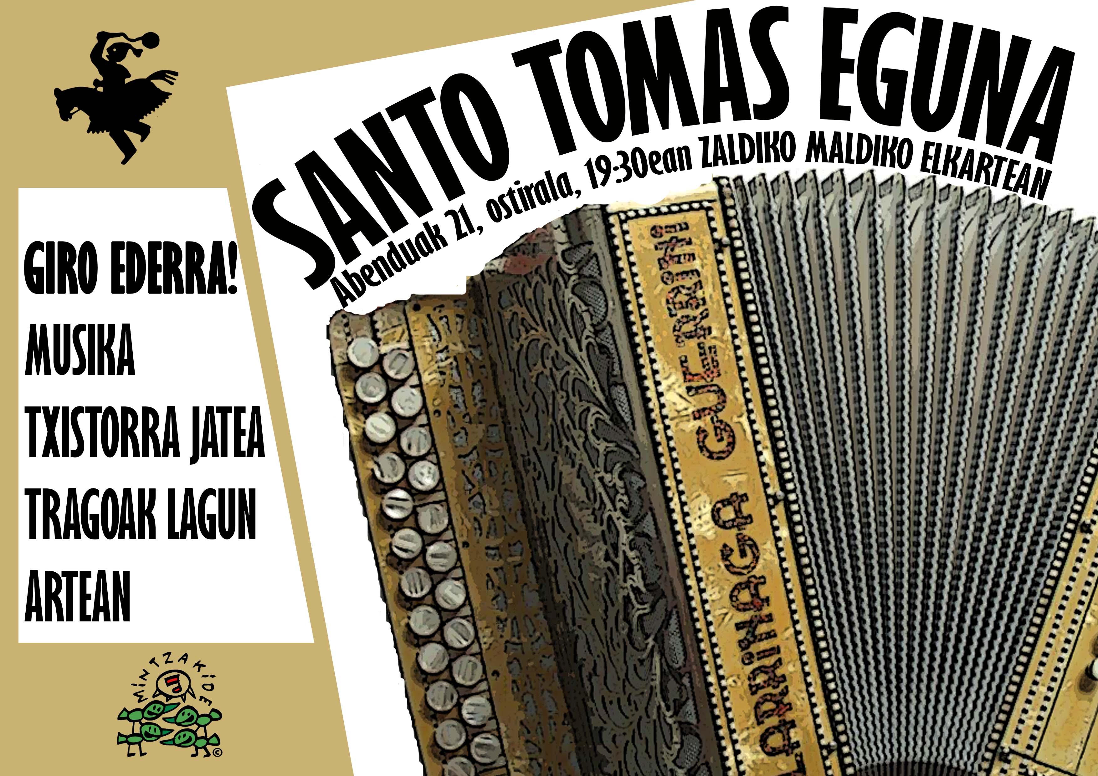 Tomas Deuna, Zaldiko Maldiko Elkartean @ ZALDIKO MALDIKO KULTUR ELKARTEA