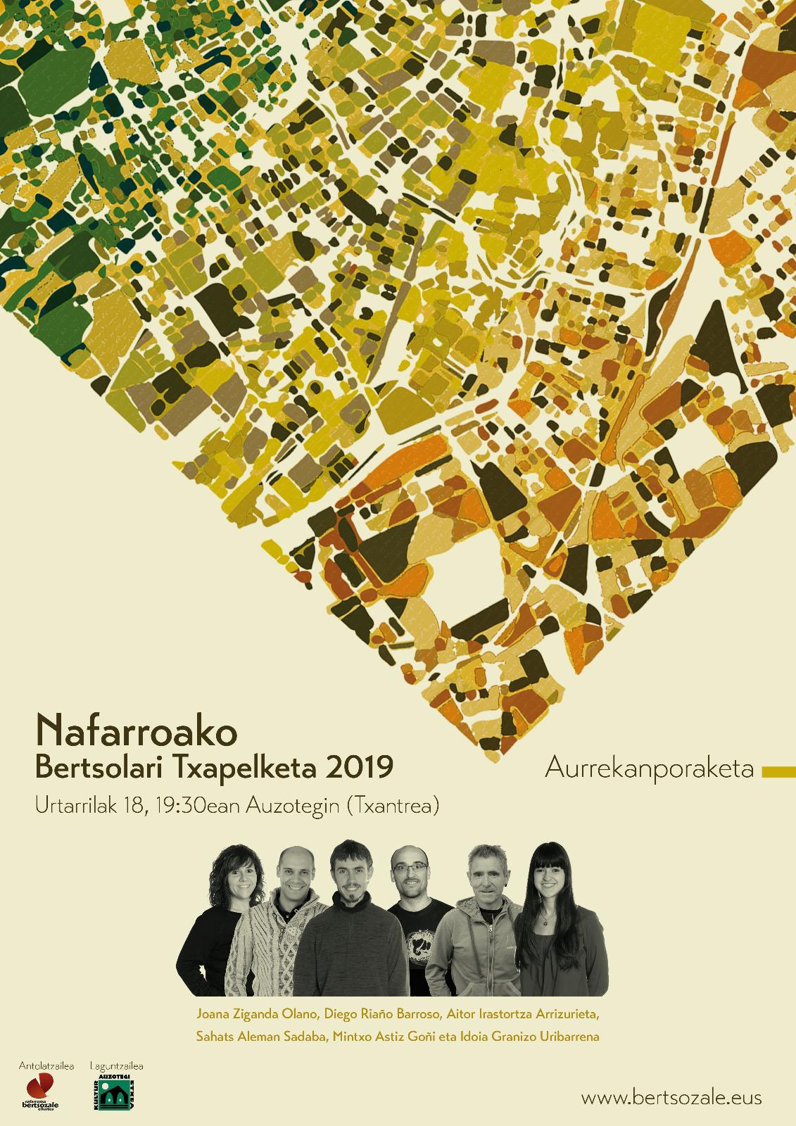 NAFARROAKO BERTSOLARI TXAPELKETA 2019 - ATARRABIA @ ATARRABIAKO KULTUR ETXEA