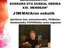 Sanduzelaitik:  Euskara  eta  Euskal  herria  XXI.  mendean.  Jon  Maiaren  eskutik.  Korrika  Kulturala