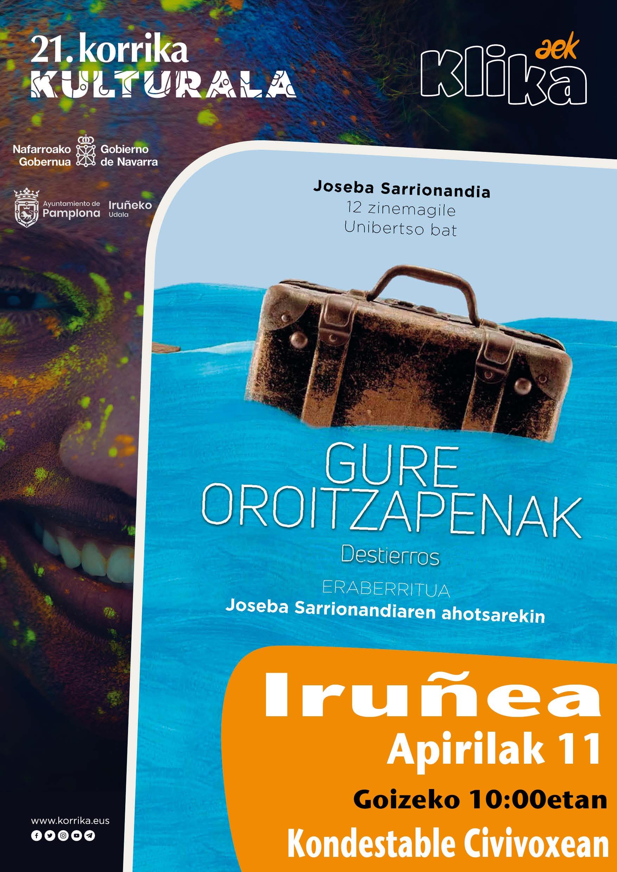 """""""Gure oroitzapenak"""", Joseba Sarrionandia. Korrika Kulturala @ Kondestable Civiboxean."""