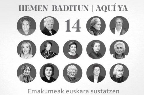 """BADITUN 14"" MAHAI INGURUA @ Kondestable Civivox"