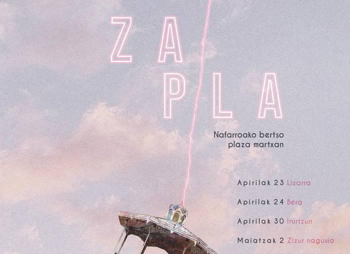 Nafarroako bertso plaza martxan jarriko du Zapla! egitasmoak